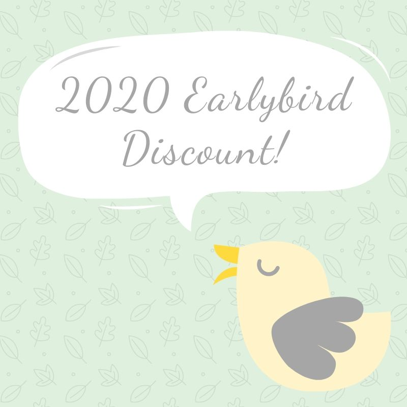 2020 Earlybird Offer!